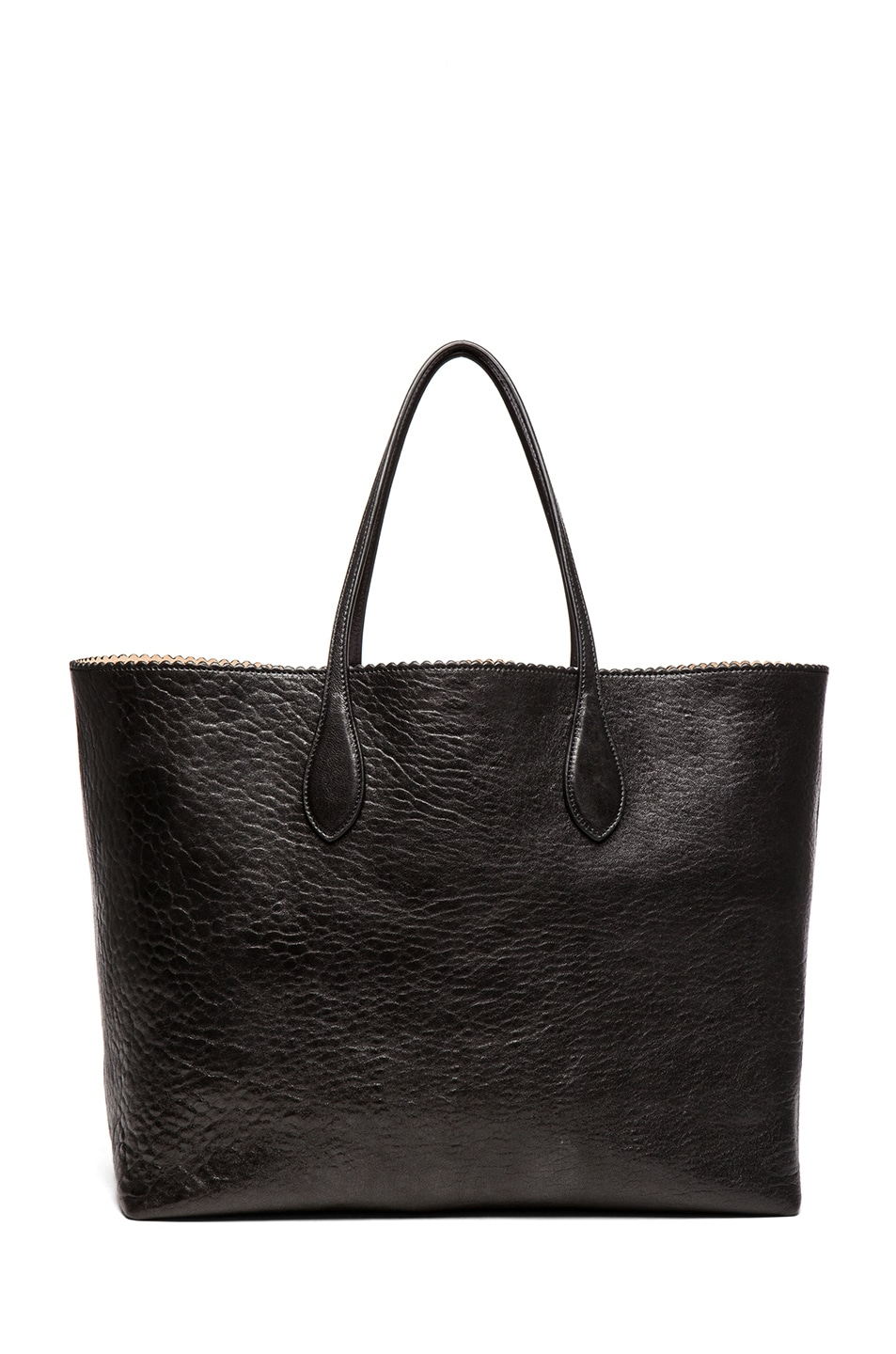 Image 2 of ROCHAS Borsa Zig Zag Tote in Black