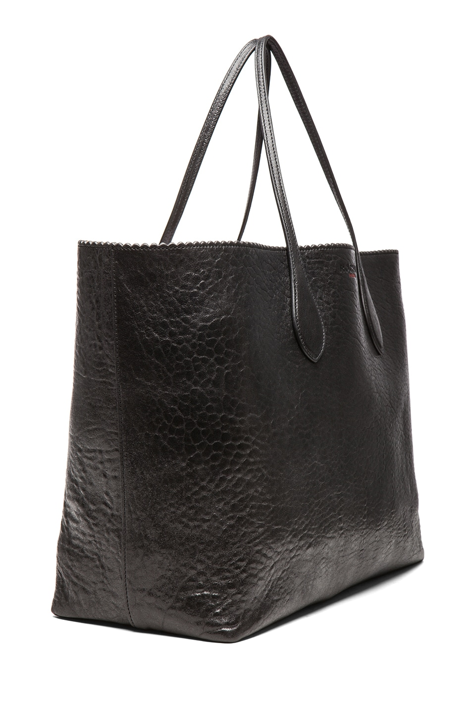 Image 3 of ROCHAS Borsa Zig Zag Tote in Black