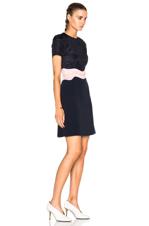 Image 3 of Roksanda Aublin Dress in Navy & Lavender