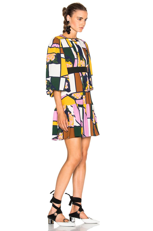 Image 3 of Roksanda Musset Dress in Light Multi