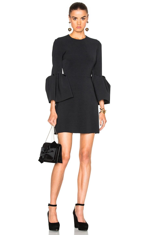 Image 1 of Roksanda Cady Hadari Dress in Black