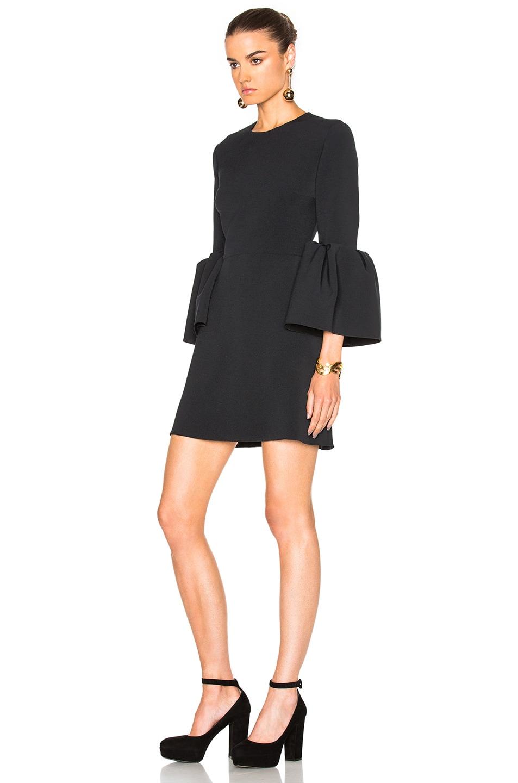 Image 2 of Roksanda Cady Hadari Dress in Black