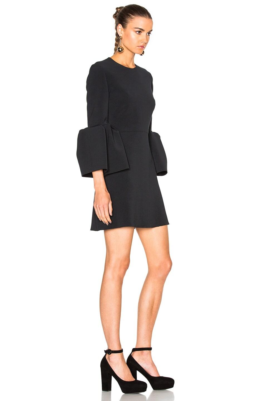 Image 3 of Roksanda Cady Hadari Dress in Black