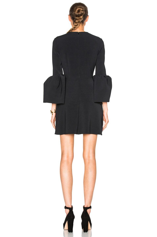 Image 4 of Roksanda Cady Hadari Dress in Black