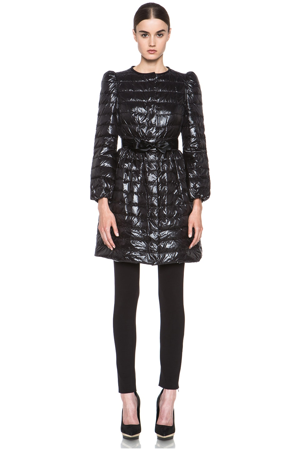 Image 1 of Red Valentino Super Light Down Jacket in Black