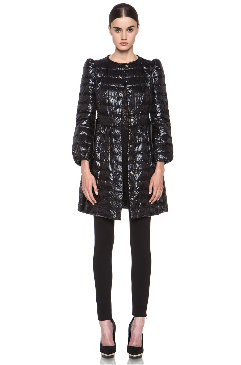 Image 2 of Red Valentino Super Light Down Jacket in Black