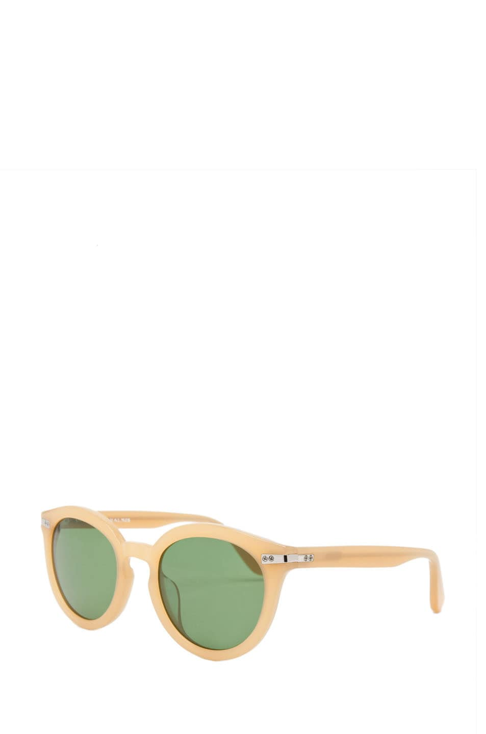 Image 2 of Shipley & Halmos Edison Sunglasses in Blonde