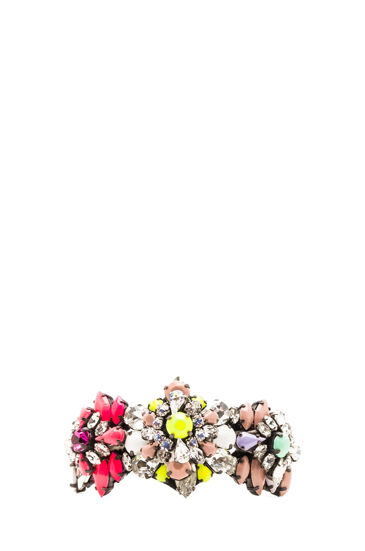 Image 1 of Shourouk Rainbow Cuff in Multi