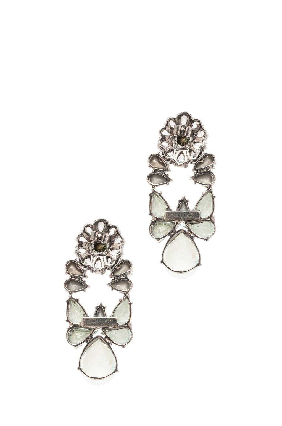 Image 3 of Shourouk Mia Earrings in Mint