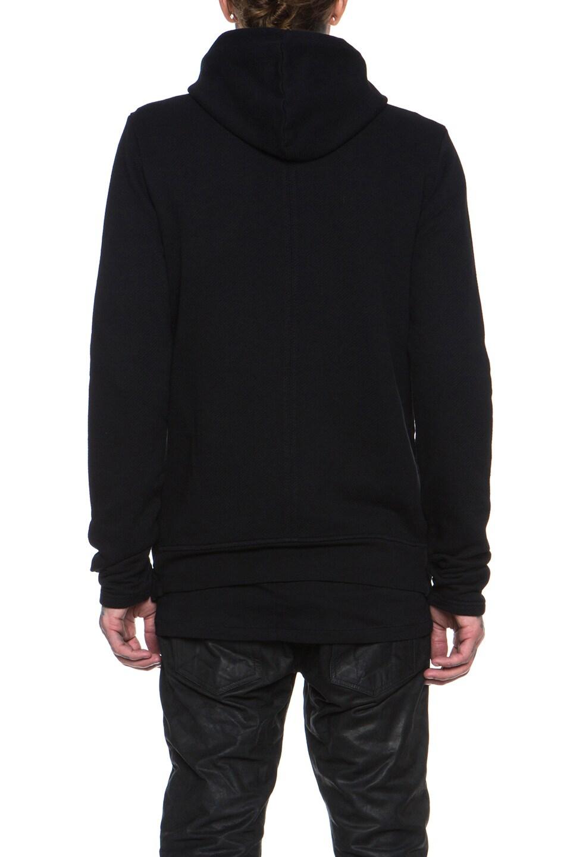 Image 5 of SILENT DAMIR DOMA Cotton Blazer Jacket in Black