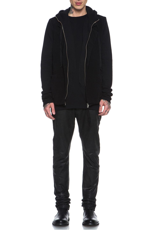 Image 6 of SILENT DAMIR DOMA Cotton Blazer Jacket in Black