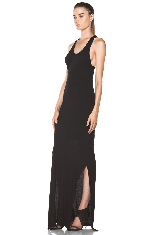 Image 2 of SILENT DAMIR DOMA Basic Tank Dress in Vintage Black