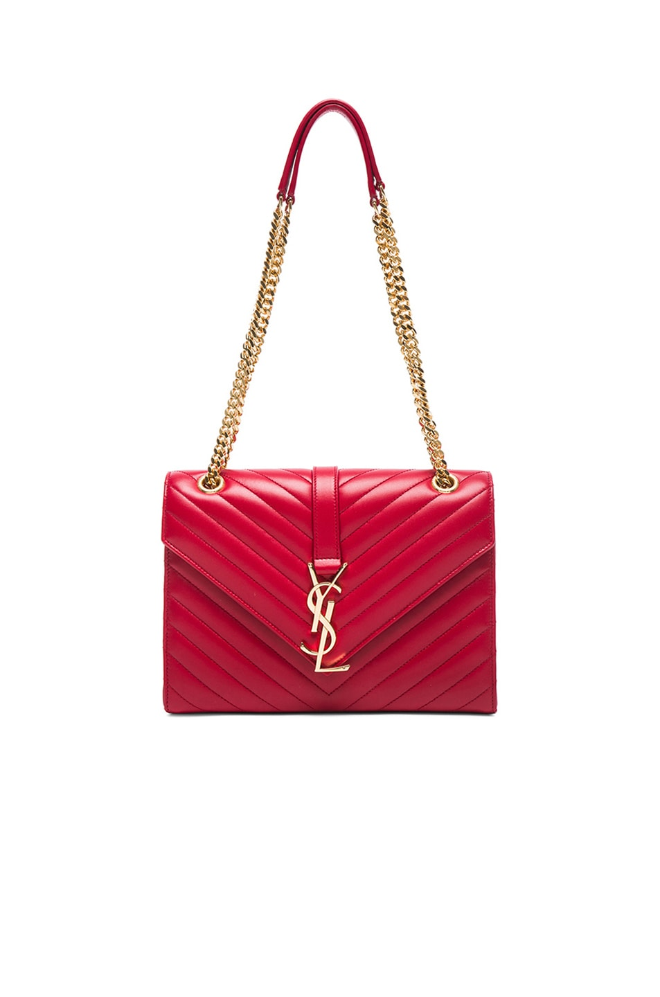 ysl purses replica - classic medium kate monogram saint laurent satchel in red grain de ...