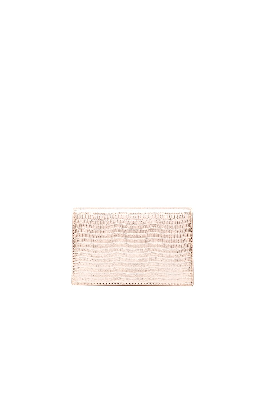 clutch replica - monogram saint laurent chain wallet in pearl white crocodile ...
