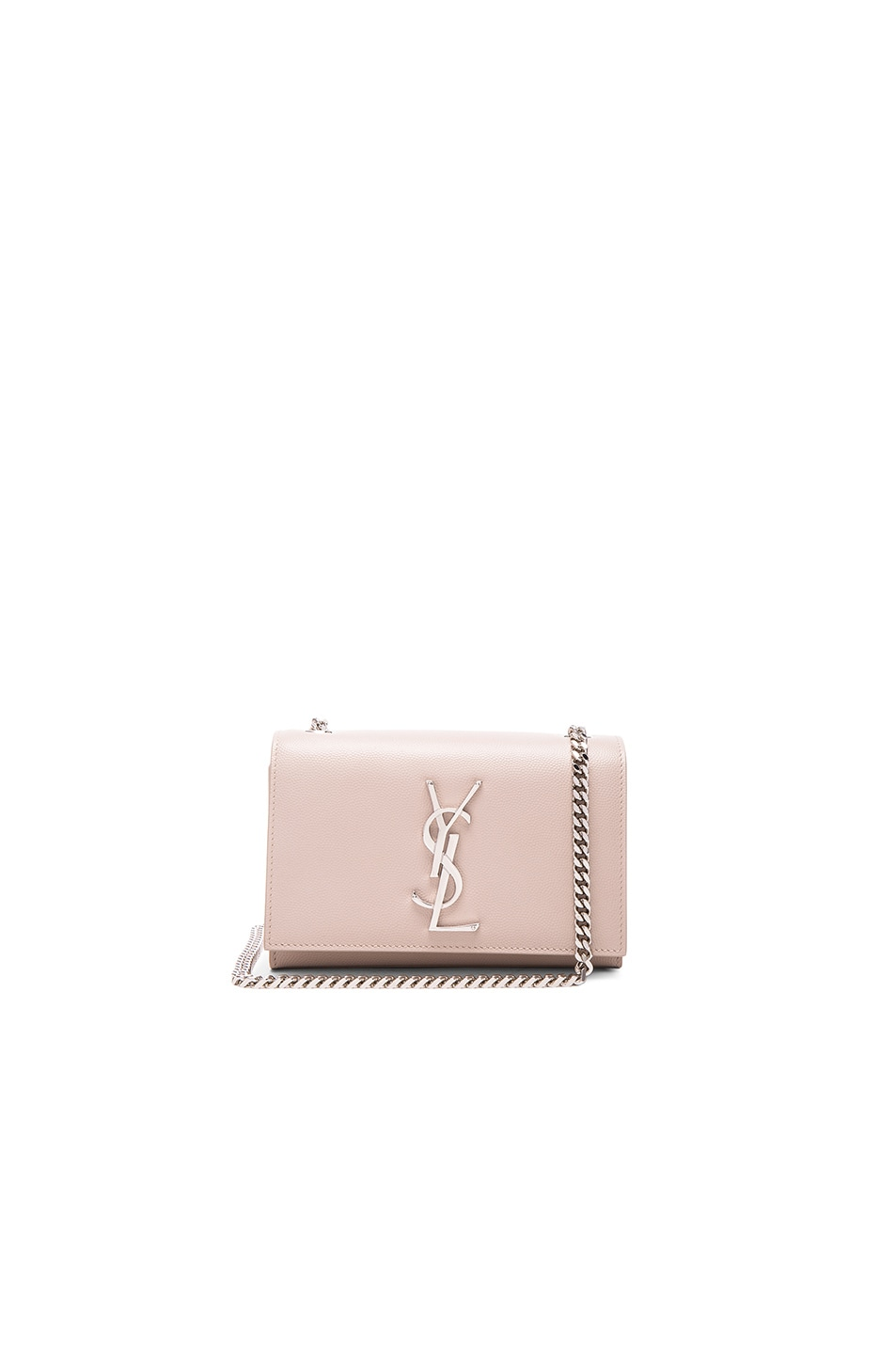 SAINT LAURENT Metallic Chain Wallet