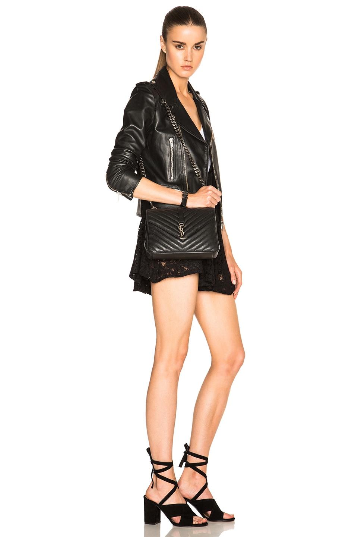 ysl replica handbag - yves saint laurent baby college quilted leather shoulder bag, ysl ...
