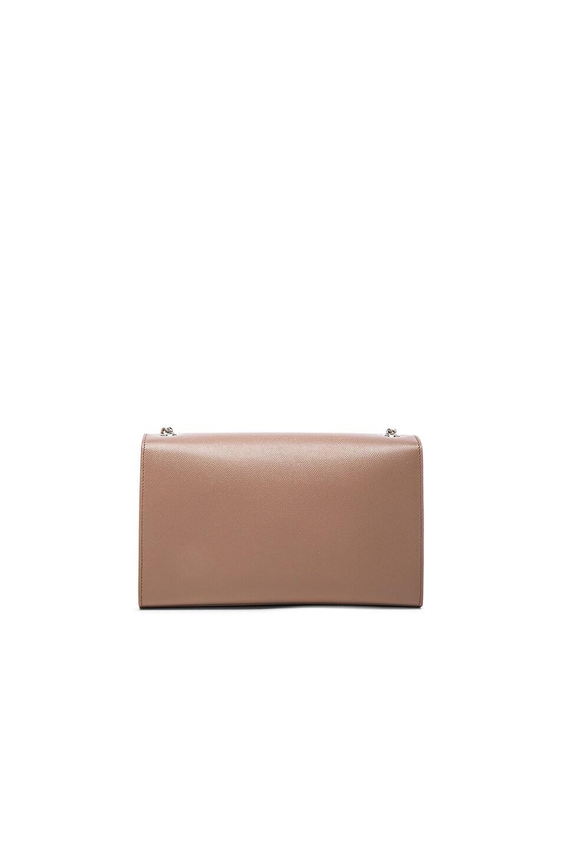 Image 3 of Saint Laurent Medium Monogramme Kate Chain Bag in Fard