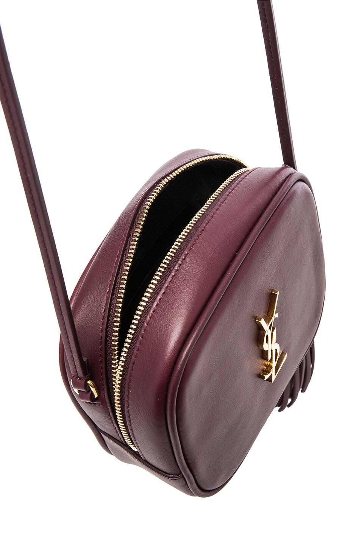 yves saint laurent leather monogram blogger bag