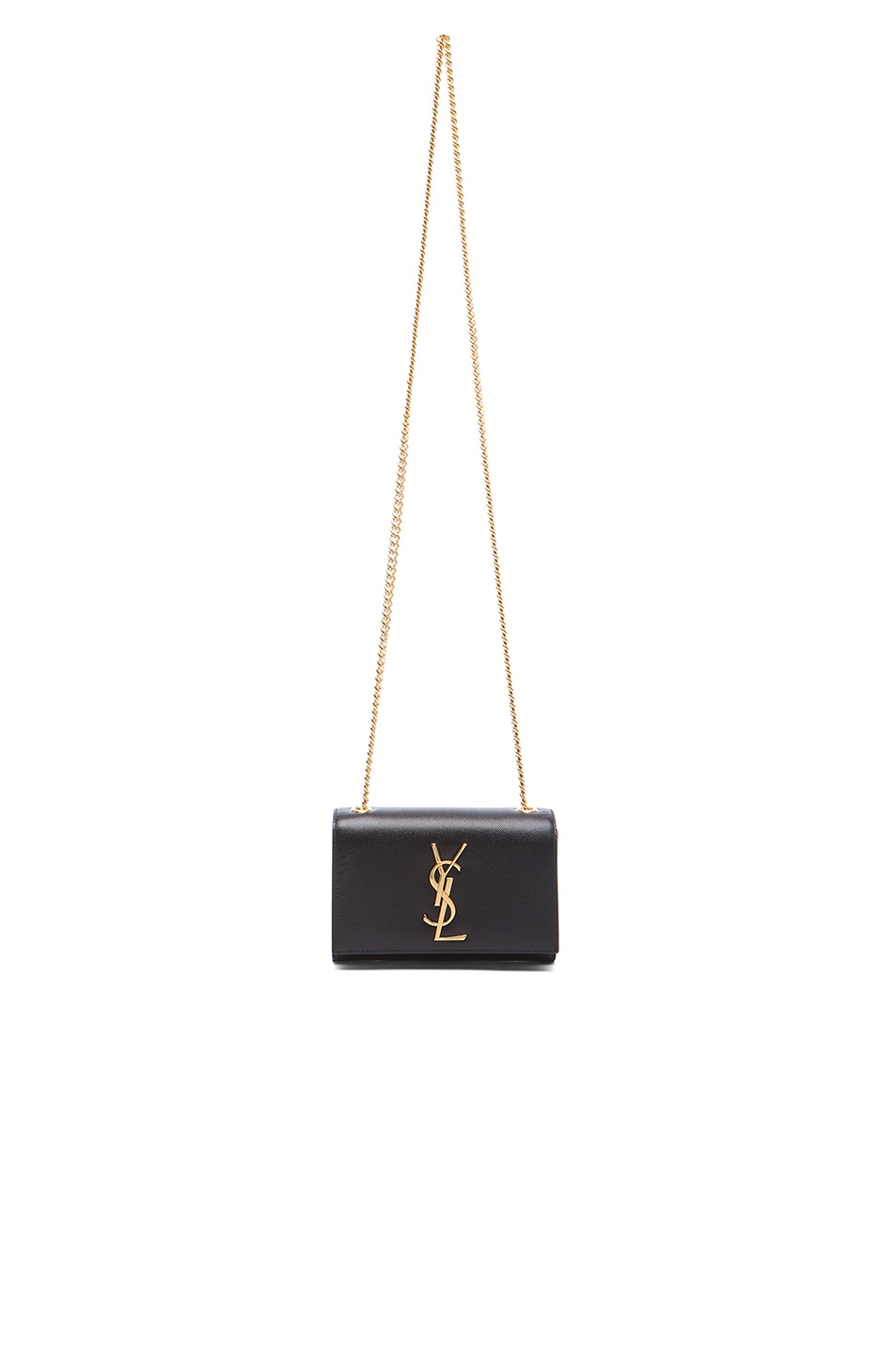 Image 6 of Saint Laurent Small Monogramme Chain Bag in Black