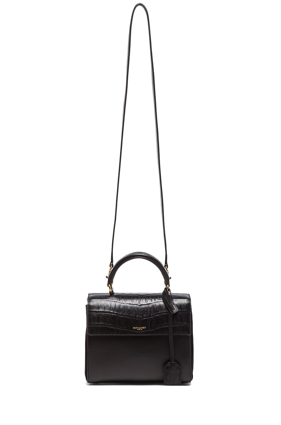 Saint Laurent Small Moujik Bag in Black | FWRD