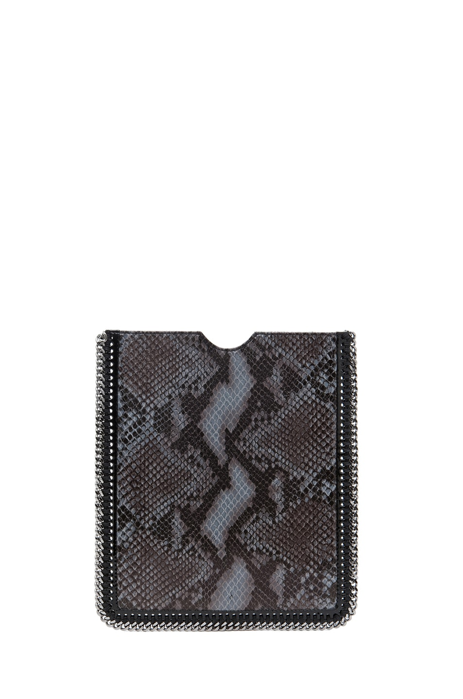Image 2 of Stella McCartney Python VIP iPad Case in Teal