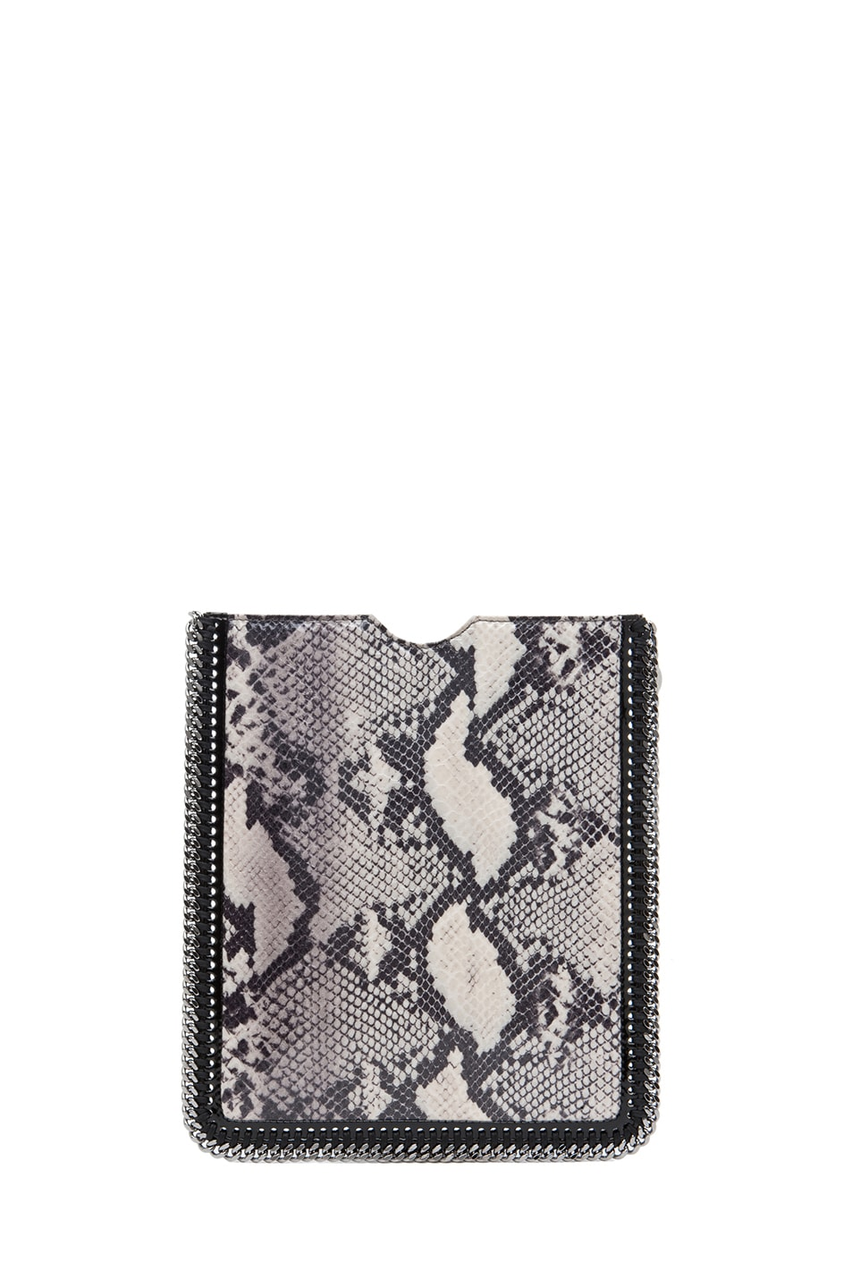 Image 2 of Stella McCartney Python VIP iPad Case in Ivory