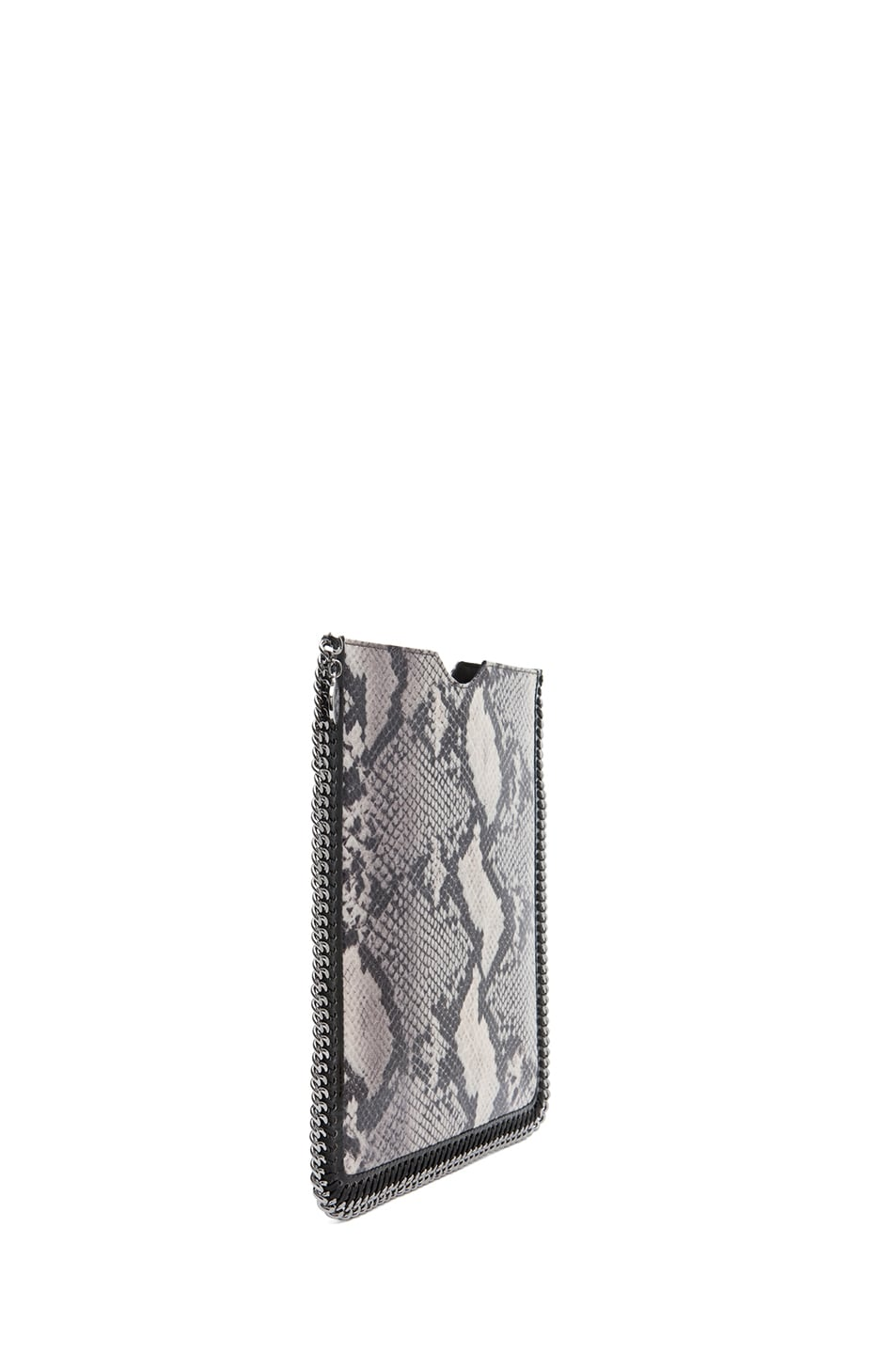 Image 3 of Stella McCartney Python VIP iPad Case in Ivory