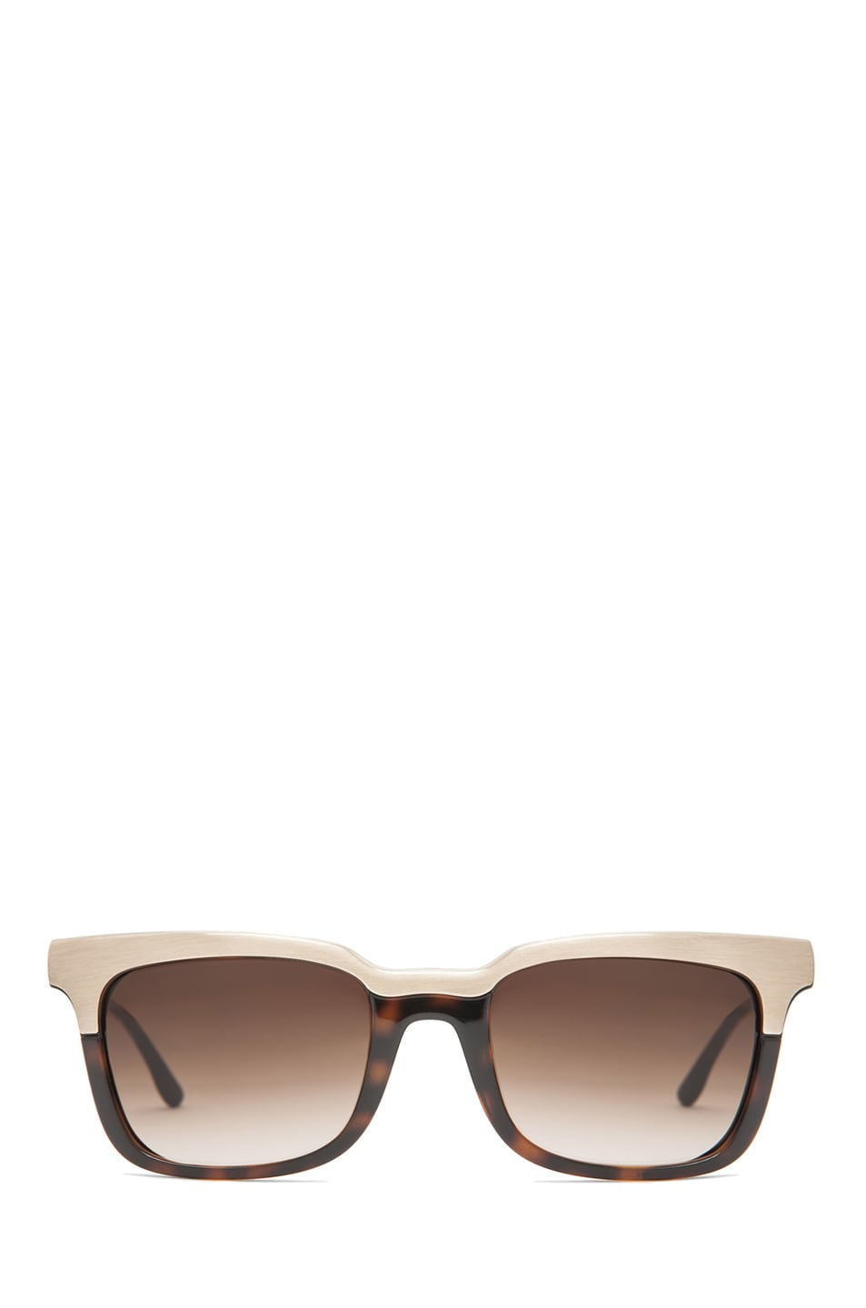 Image 1 of Stella McCartney Sunglasses in Brown Gradient & Gold