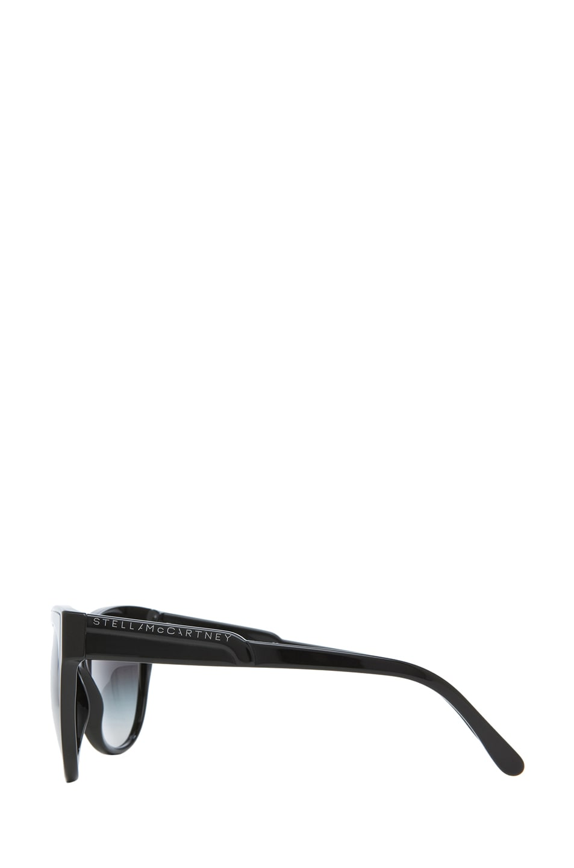 Image 3 of Stella McCartney Sunglasses in Black & Grey Gradient