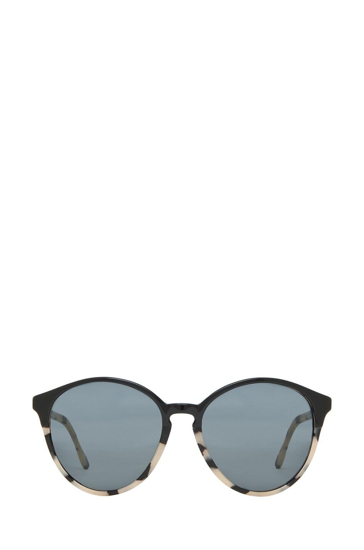 Image 1 of Stella McCartney Sunglasses in Black & Spotty Tortoise