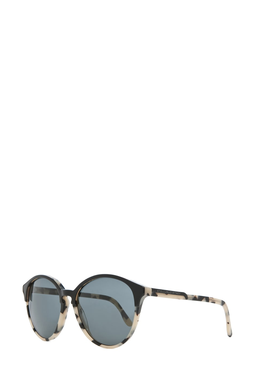 Image 2 of Stella McCartney Sunglasses in Black & Spotty Tortoise