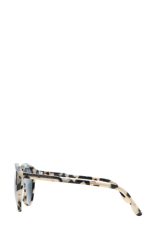 Image 3 of Stella McCartney Sunglasses in Black & Spotty Tortoise