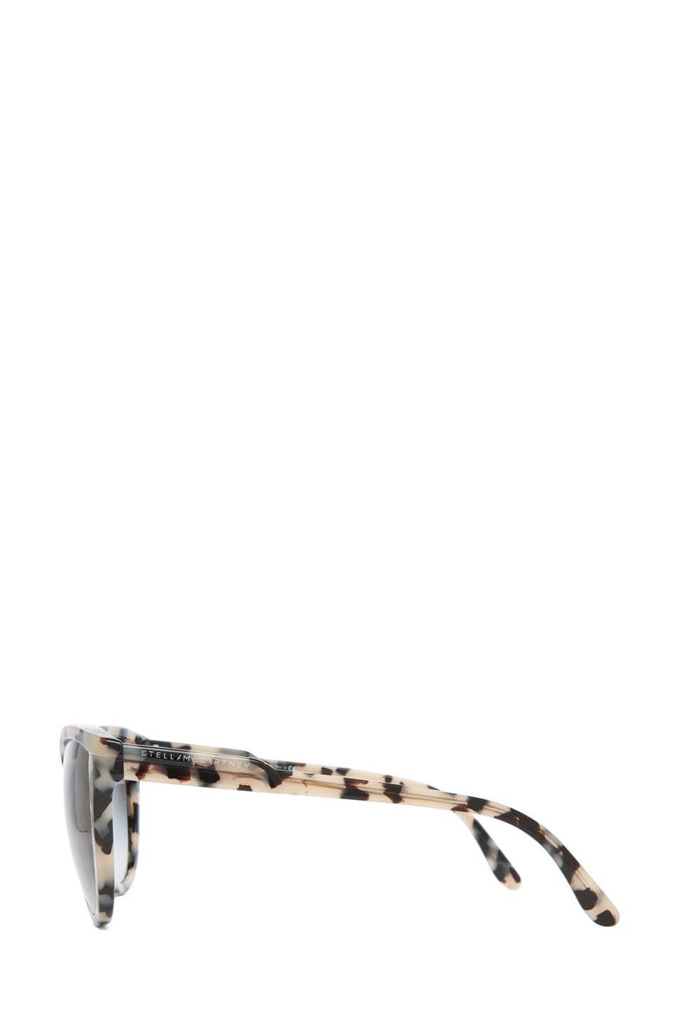 Image 3 of Stella McCartney Grey Gradient Sunglasses in Grey Spotty Tortoise