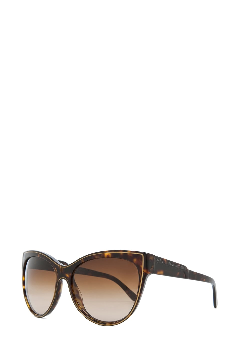 Image 2 of Stella McCartney Sunglasses in Dark Tortoise & Brown Gradient