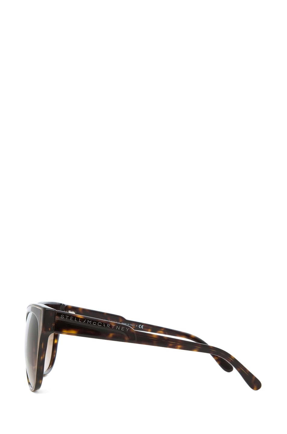 Image 3 of Stella McCartney Sunglasses in Dark Tortoise & Brown Gradient