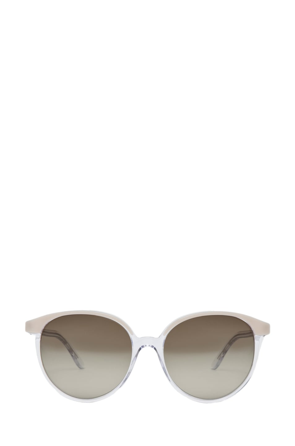 Image 1 of Stella McCartney Sunglasses in Beige & Crystal