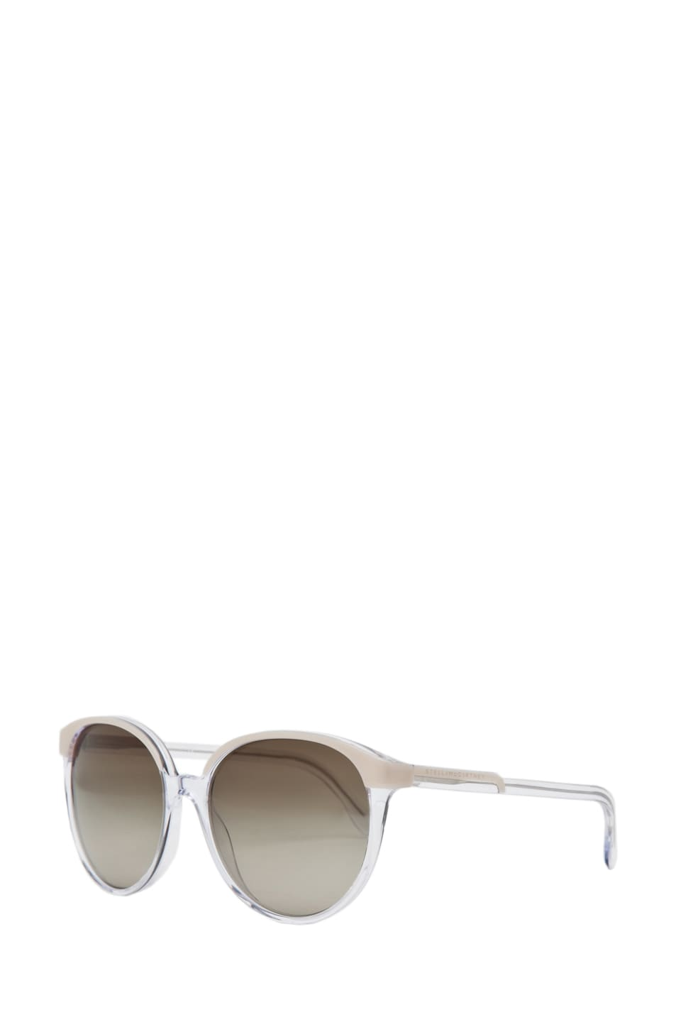 Image 2 of Stella McCartney Sunglasses in Beige & Crystal