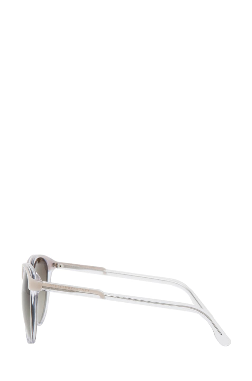 Image 3 of Stella McCartney Sunglasses in Beige & Crystal