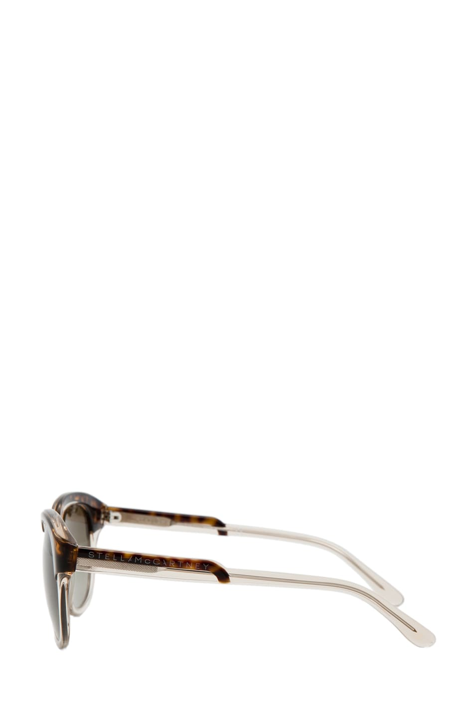 Image 3 of Stella McCartney Sunglasses in Havana & Transparent Yellow