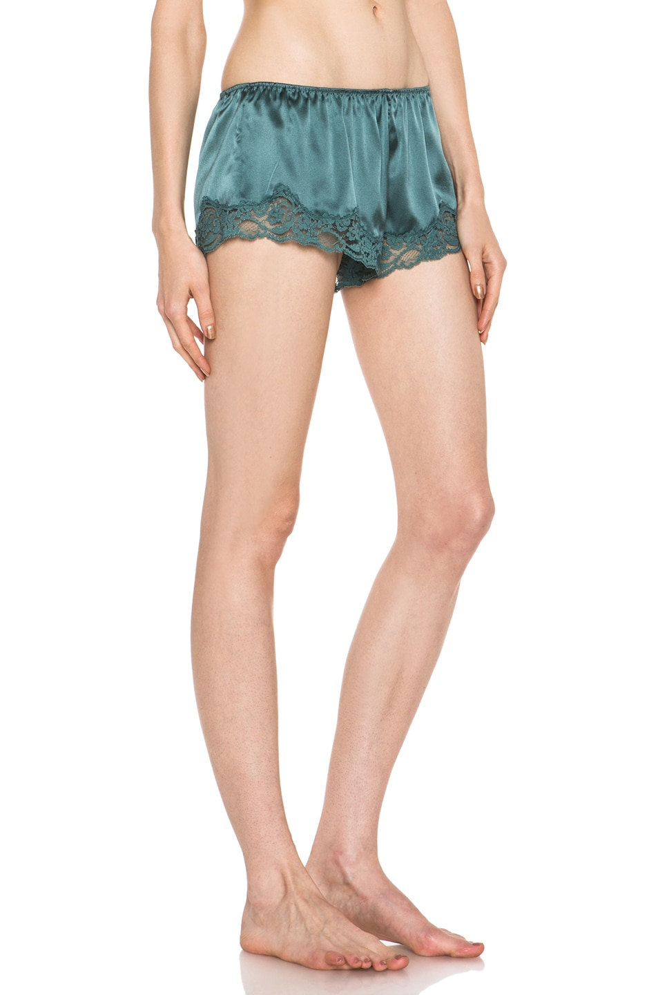 Image 3 of Stella McCartney Ruby Snoozing Short in Teal