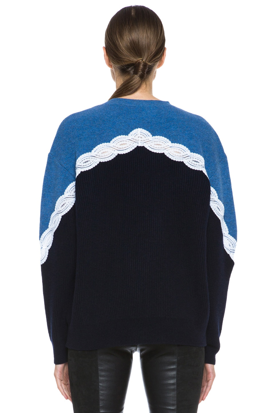 Image 4 of Stella McCartney Lace Sweater in Blue