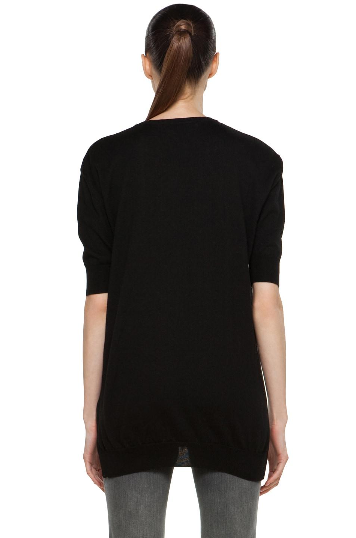 Image 4 of Stella McCartney Tiger Sweater in Black