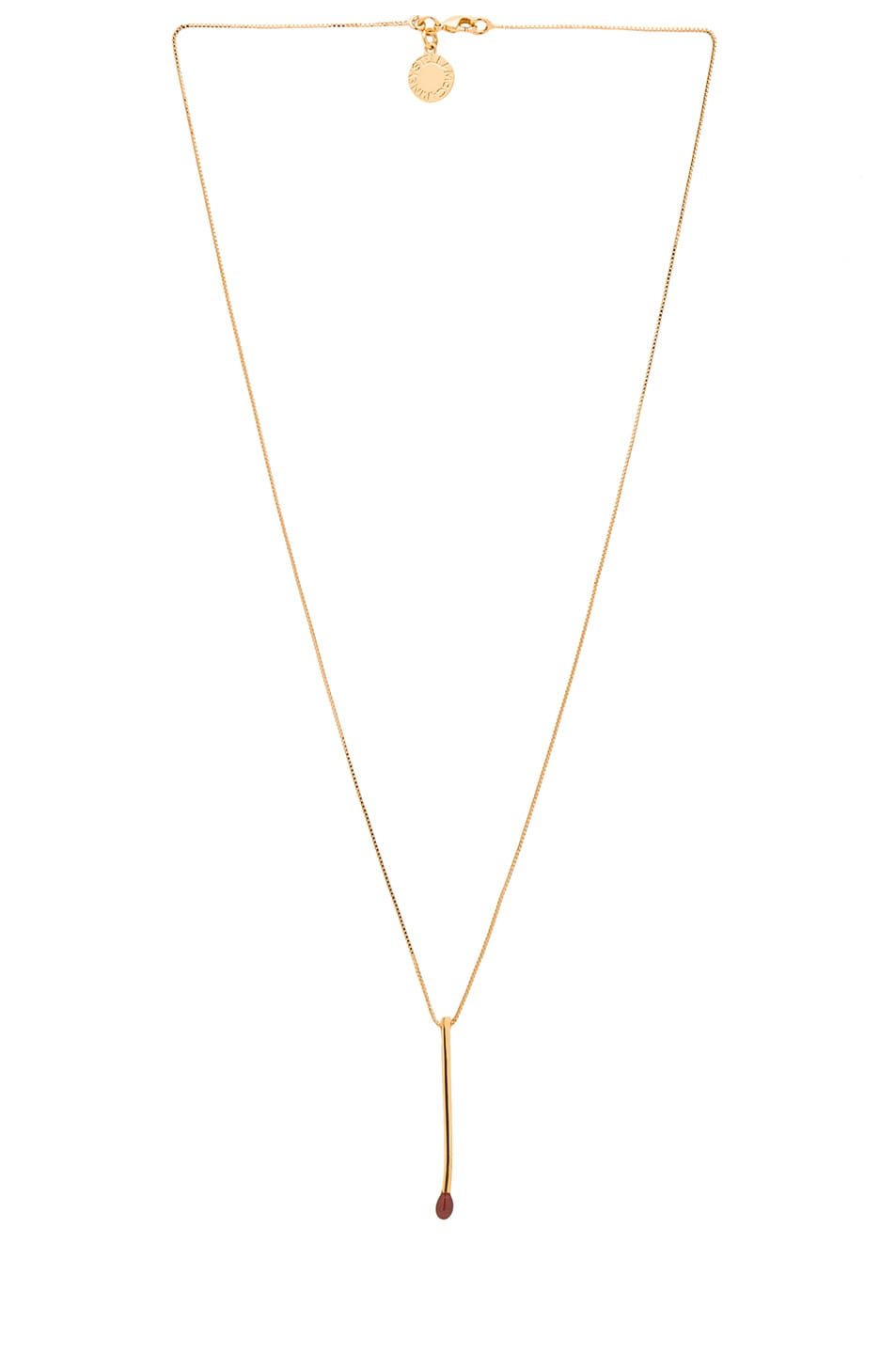 Image 2 of Stella McCartney Pendant Necklace in Mocossin