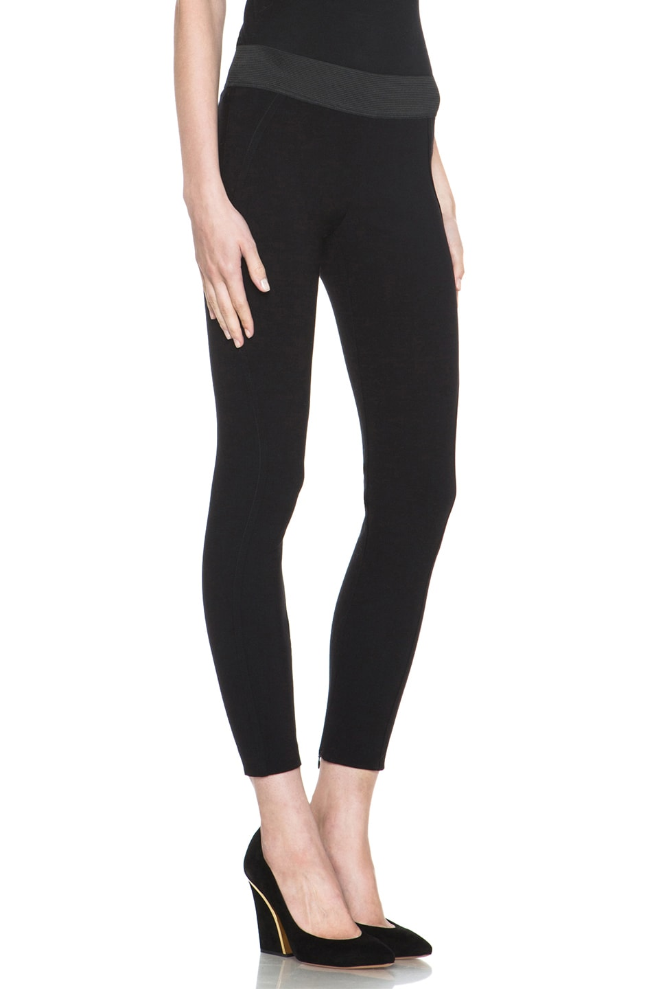Image 3 of Stella McCartney Pull on Legging in Black