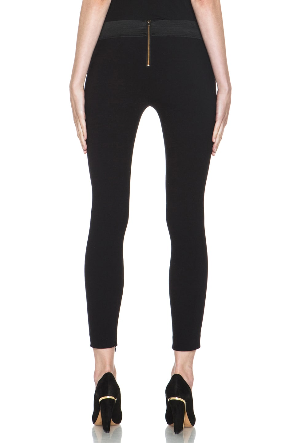 Image 4 of Stella McCartney Pull on Legging in Black