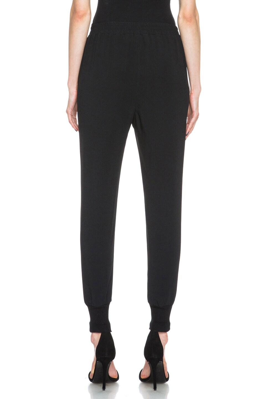 Image 4 of Stella McCartney Viscose-Blend Elastic Trouser in Black