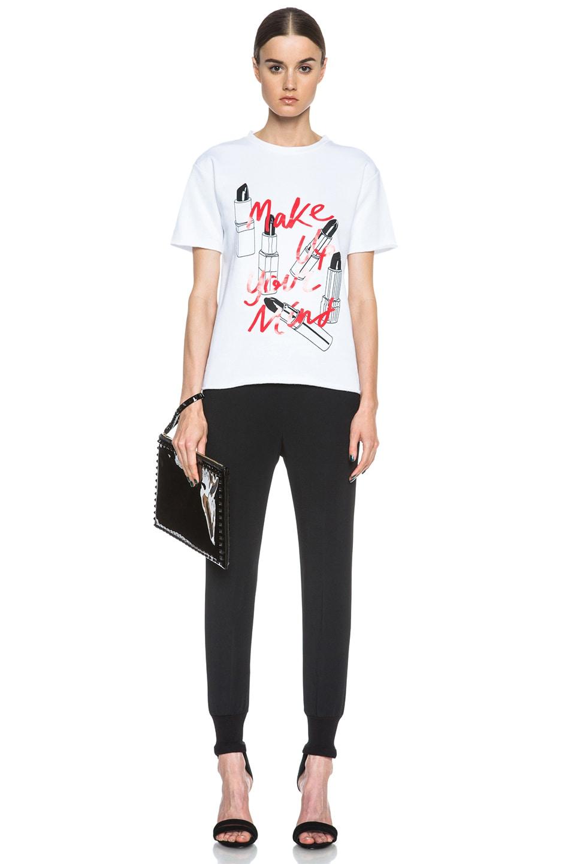 Image 5 of Stella McCartney Viscose-Blend Elastic Trouser in Black