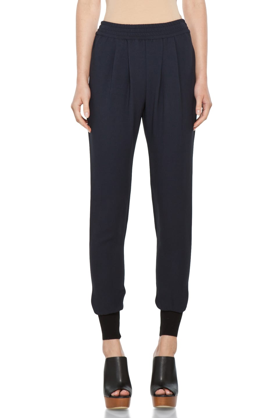 Image 1 of Stella McCartney Harem Pant in Dark Navy