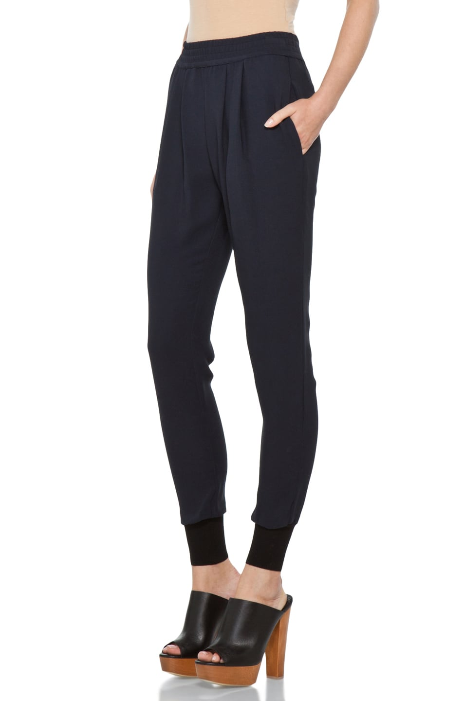 Image 2 of Stella McCartney Harem Pant in Dark Navy
