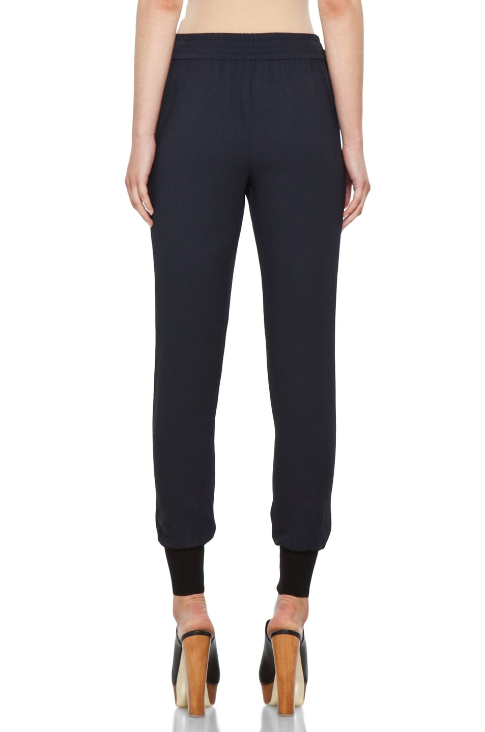 Image 4 of Stella McCartney Harem Pant in Dark Navy